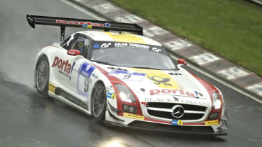 Mercedes SLS AMG GT3 wins Nurburgring 24 hours