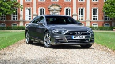 Audi A8 UK - front quarter