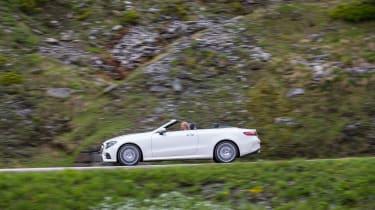 Mercedes-Benz E400 4Matic Cabriolet - Side