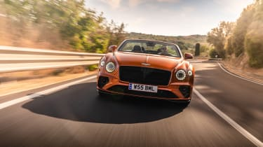 Bentley Continental GT Speed – front tracking