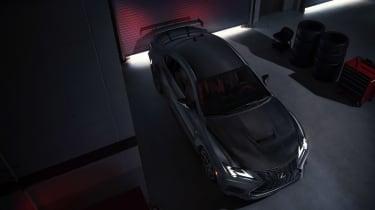 Lexus RC F Track Edition - dark