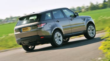 2013 Range Rover Sport Supercharged rear