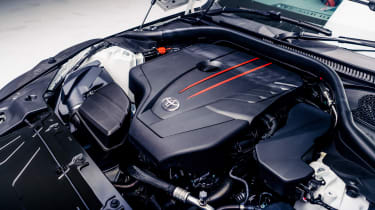 Toyota GR Supra 2.0 - engine