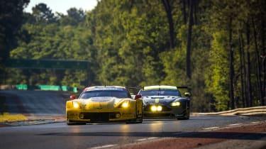 Le Mans 2017 - Corvette in front of AMR