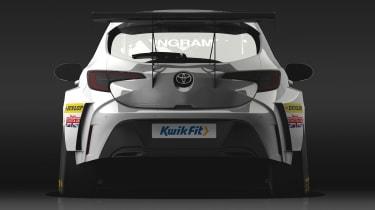 Toyota Corolla BTCC rear