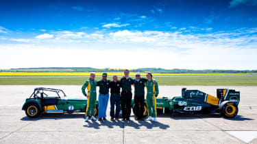 Caterham bought by Team Lotus