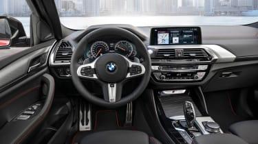 BMW X4 M40d - interior
