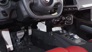 Alfa Romeo 4C steering wheel interior