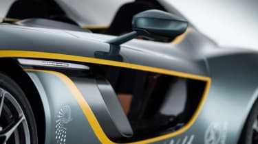 Aston Martin CC100 speedster concept side opening