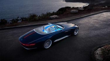 Vision Mercedes-Maybach 6 Cabriolet - rear three quarter