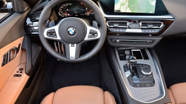 BMW Z4 M40i - interior