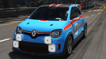 Renault TwinRun Monaco GP circuit