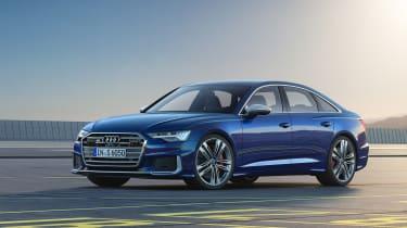 Audi S6 saloon - quarter