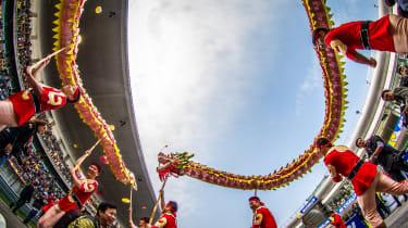 FIA WEC Shanghai Chinese dragon