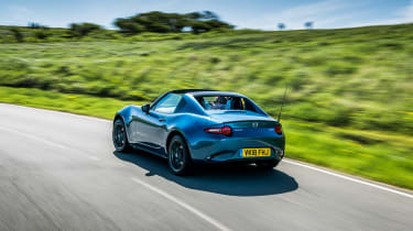 Mazda MX-5 RF Sport Black – rear quarter