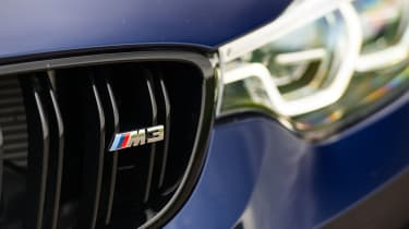 2018 model-year BMW M3 Competition Pack - Grille
