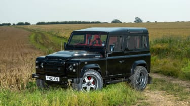 Twisted Land Rover Defender front view