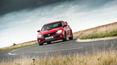 Honda Civic Type R - cornering