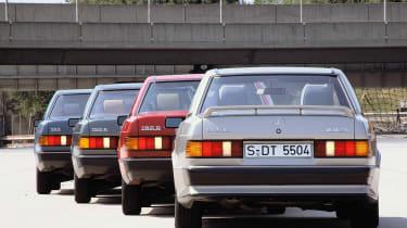 Mercedes-Benz 190 Cossie - range