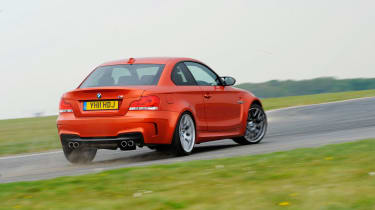 BMW 1-series M Coupe track rear