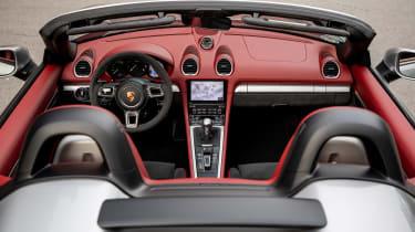 Porsche 718 Boxster Spyder - interior