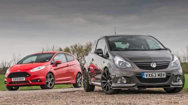 Ford Fiesta ST vs Vauxhall Corsa VXR Clubsport