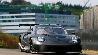 Porsche 911 RSR - tester