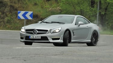 2013 Mercedes SL63 AMG slide
