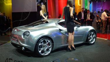 Alfa Romeo 4C at Frankfurt