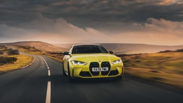 BMW M4 Competition 2021 review – tracking front