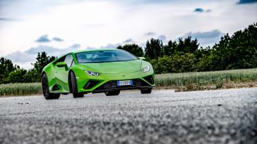 Lamborghini Huracán Evo RWD – cornering 2