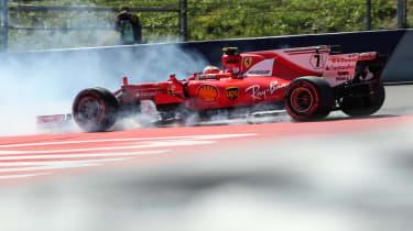 Formula One Round 9 AUT - Ferrari 2