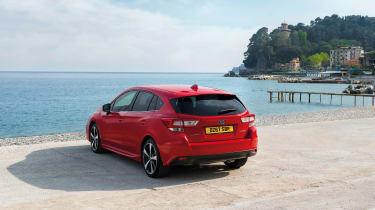 Subaru Impreza Hatch - rear quarter