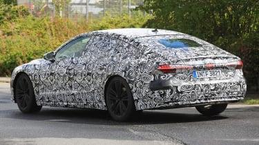 Audi A7 spied - rear 3.4 2