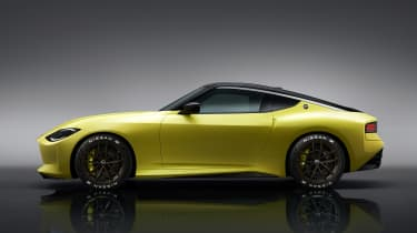 Nissan Z Proto side
