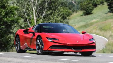 Best hybrid cars 2021 - SF90