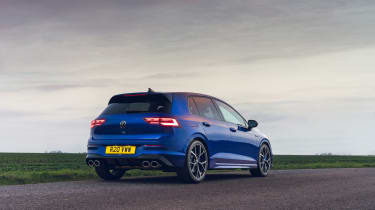 Volkswagen Golf R 2021 review - rear static