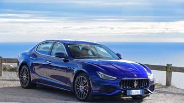 Maserati Ghibli S – front quarter