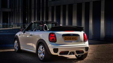 Mini John Cooper Works convertible 2019 facelift rear static