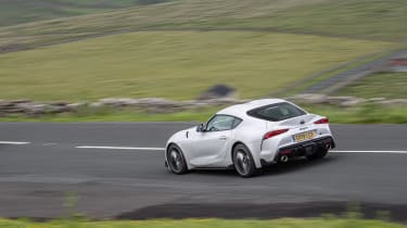 BMW M2 Competition vs Toyota GR Supra - supra rear