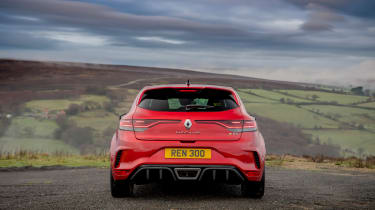 2021 Renault Megane RS300 DCT - rear static