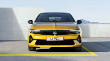 All-new Vauxhall Astra – nose
