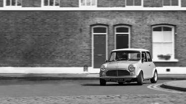 David Brown Automotive Mini Remastered dynamic shot