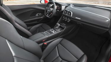 Audi R8 RWS - dash