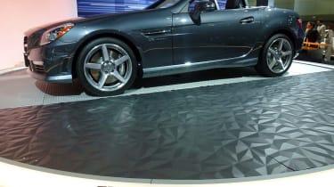 2011 Los Angeles motor show: Mercedes SLK 55 AMG