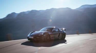 Porsche 718 Cayman GT4 RS proto –front