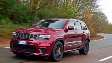 Jeep Grand Cherokee Trackhawk review - can it out-muscle a