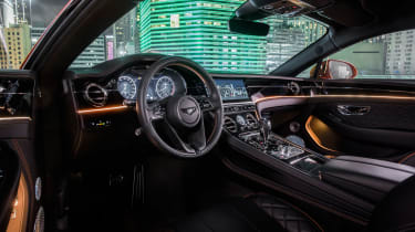 Bentley Continental GT V8 - interior