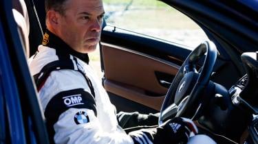 BMW M5 drift attempt - interior