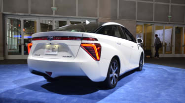 Toyota Mirai fuel cell car